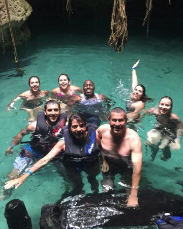 Cenote Santa Cruz & Akumal